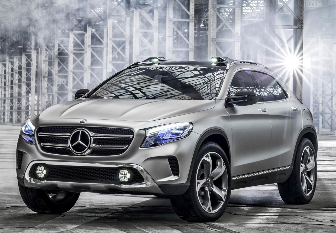 Прототип кроссовера Mercedes-Benz GLA Concept
