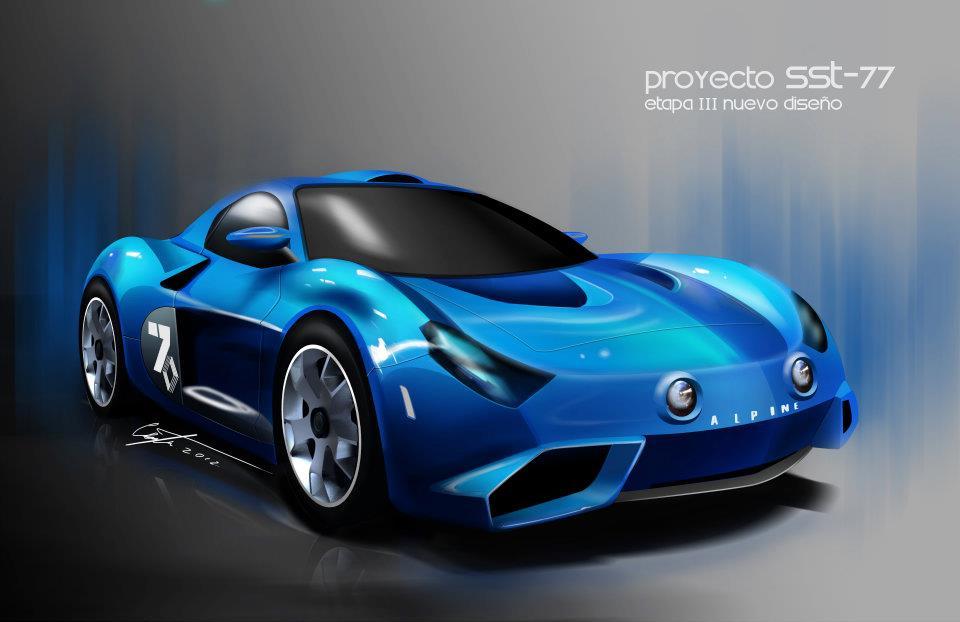 Мексиканский проект спорткара SST-77