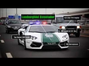 Суперкары для полиции Эмиратов