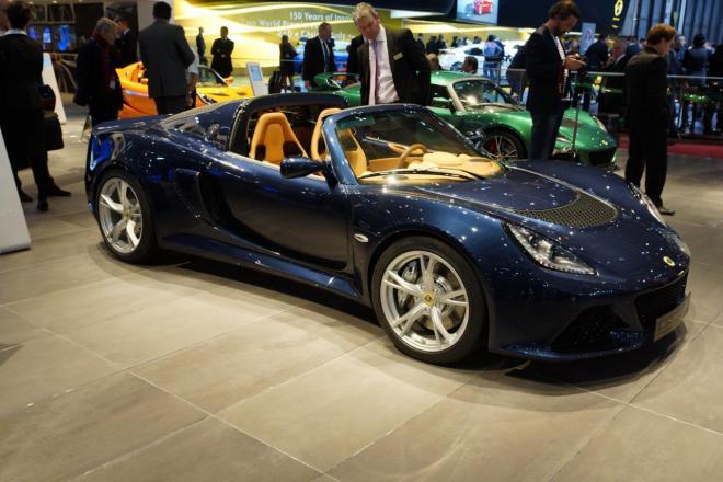 Новый родстер Lotus Exige S
