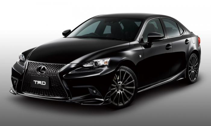Тюнинг-пакет TRD для нового Lexus IS