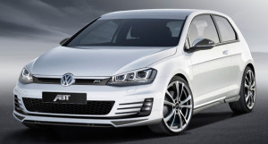 Тюнинг спортхэтчбека VW Golf 7 GTD