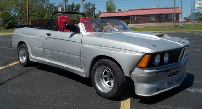 Странный кабриолет BMW M35