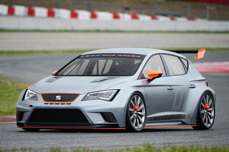 Гоночный автомобиль SEAT Leon Cup Racer
