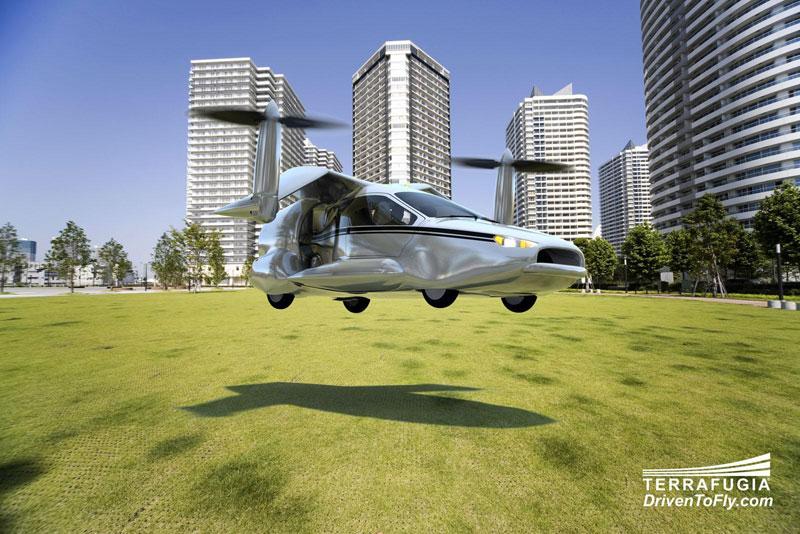 Летающий автомобиль Terrafugia TF-X (фото, видео)