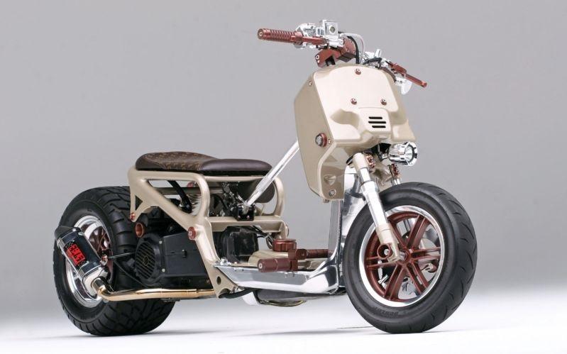 Необычный кастом-скутер Honda Ruckus LV Project