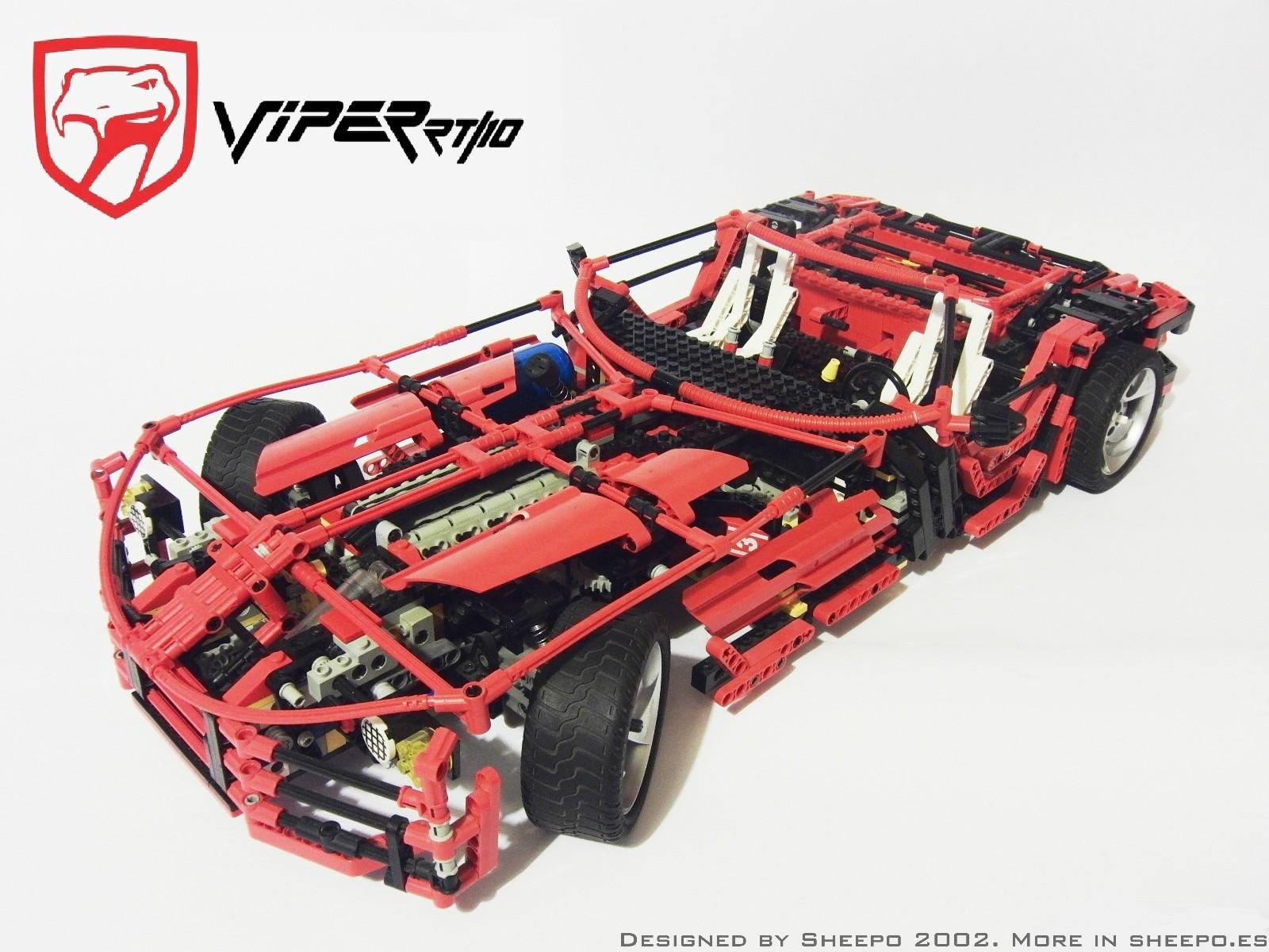 Новые автомобили из конструктора Лего
