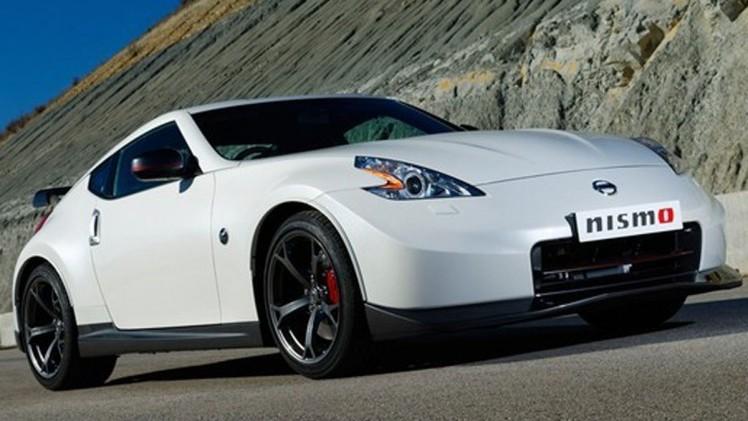 Обновленный спорткар Nissan 370Z NISMO 2014