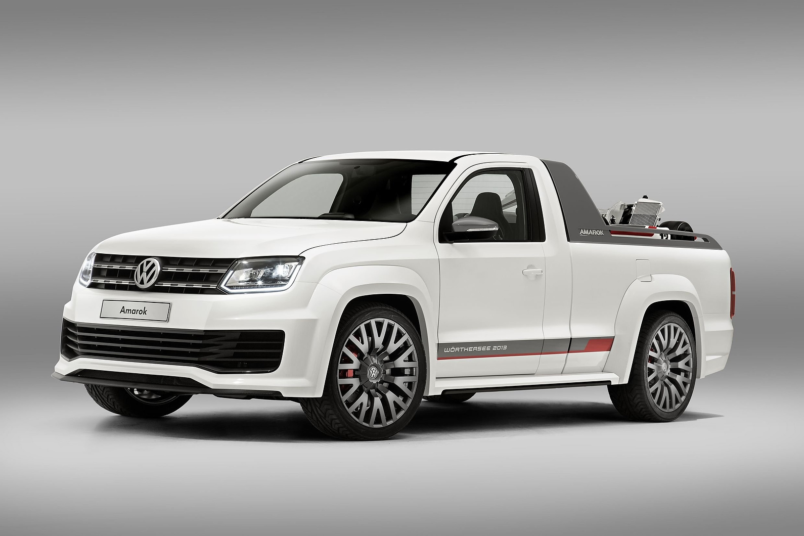Прототип нового пикапа Volkswagen Amarok