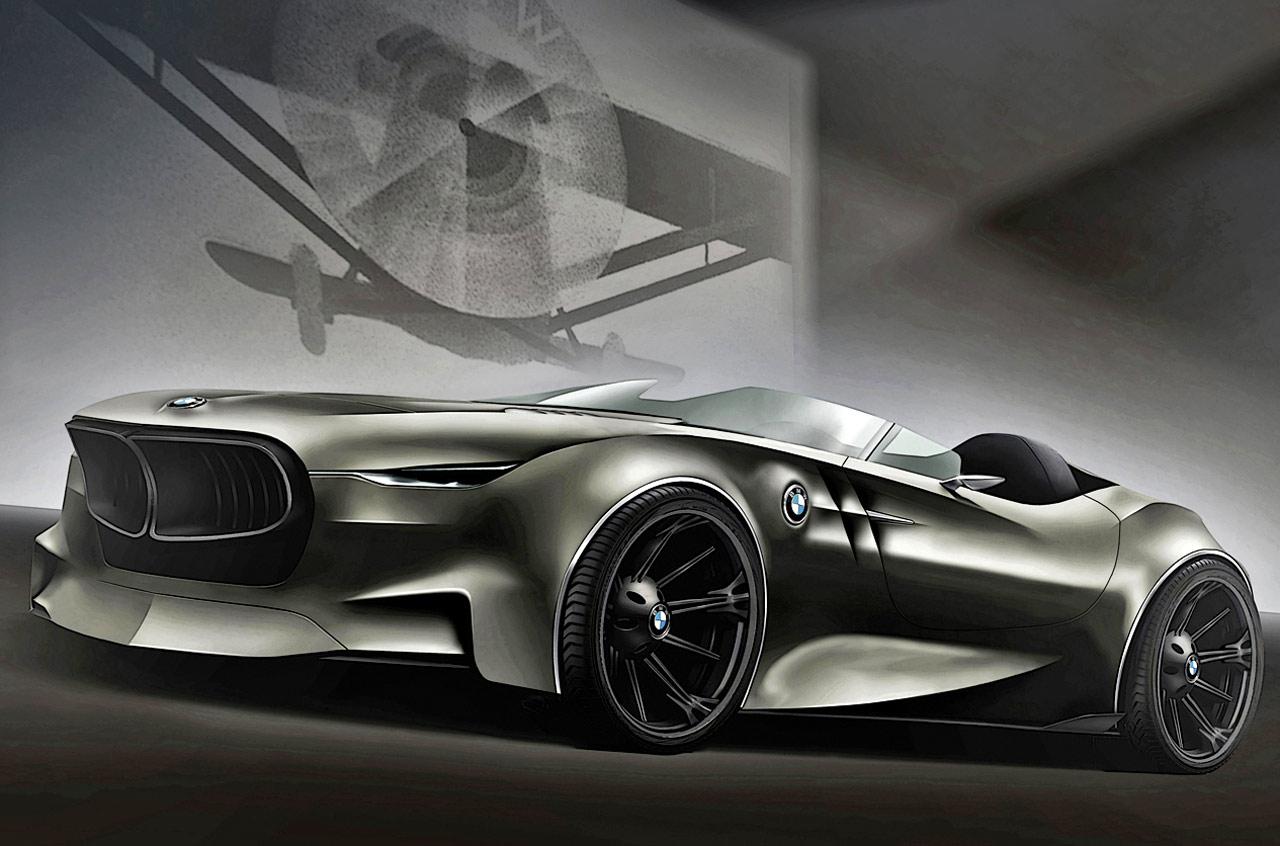 Красивый концепт BMW Rapp