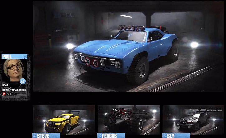 Автомобильная гоночная игра The Crew