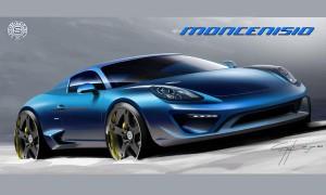 Porsche Cayman S превращается в спорткар Moncenisio