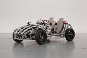 Детский электромобиль-конструктор Camatte57s