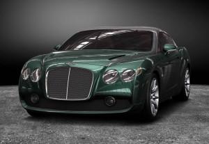 Эксклюзивное купе Bentley Continental GTZ