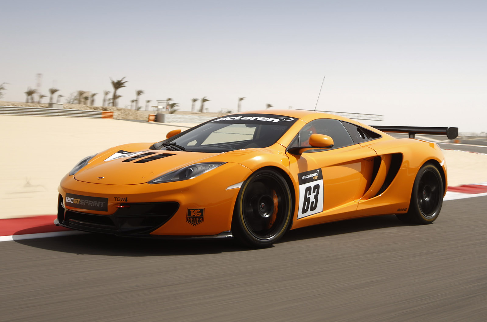 Суперкар для трека — McLaren 12C GT Sprint