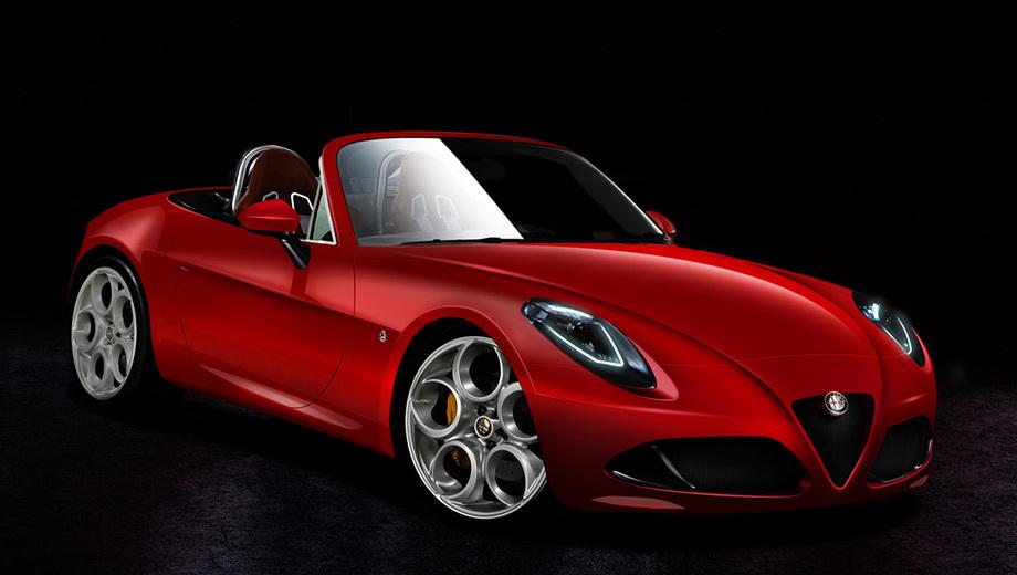 Новый родстер Alfa Romeo Spider