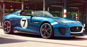 Гоночный прототип Jaguar Project 7