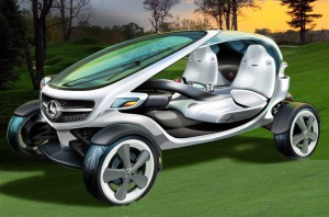 Концепт Mercedes-Benz Vision Golf Cart