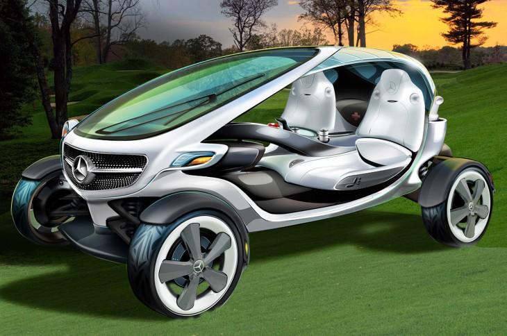 Концепт Mercedes-Benz Vision Golf Cart