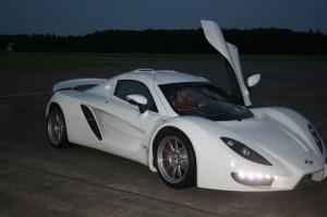 Немецкий суперкар Sin R1