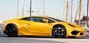 Новый итальянский суперкар Lamborghini Cabrera