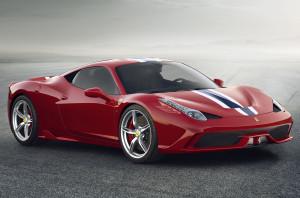 Облегченный суперкар Ferrari 458 Speciale