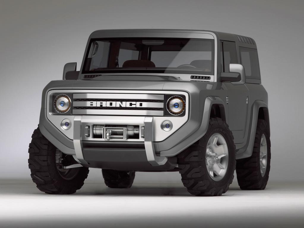 Концептуальный внедорожник 2004 Ford Bronco