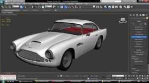 3D копия Aston Martin DB4
