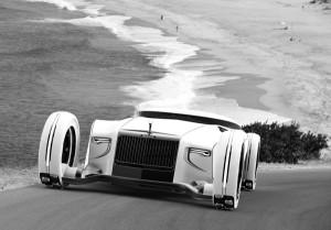 Роскошный концепт Rolls Royce Eidolon