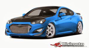 1000-сильное купе от Hyundai и Bisimoto Engineering