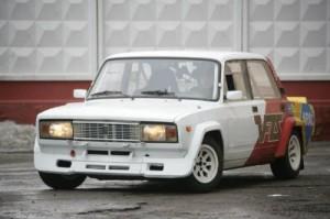 Советский спорткар ВАЗ-2105 ВФТС