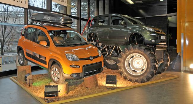 Бигфут на базе Fiat Panda 4×4