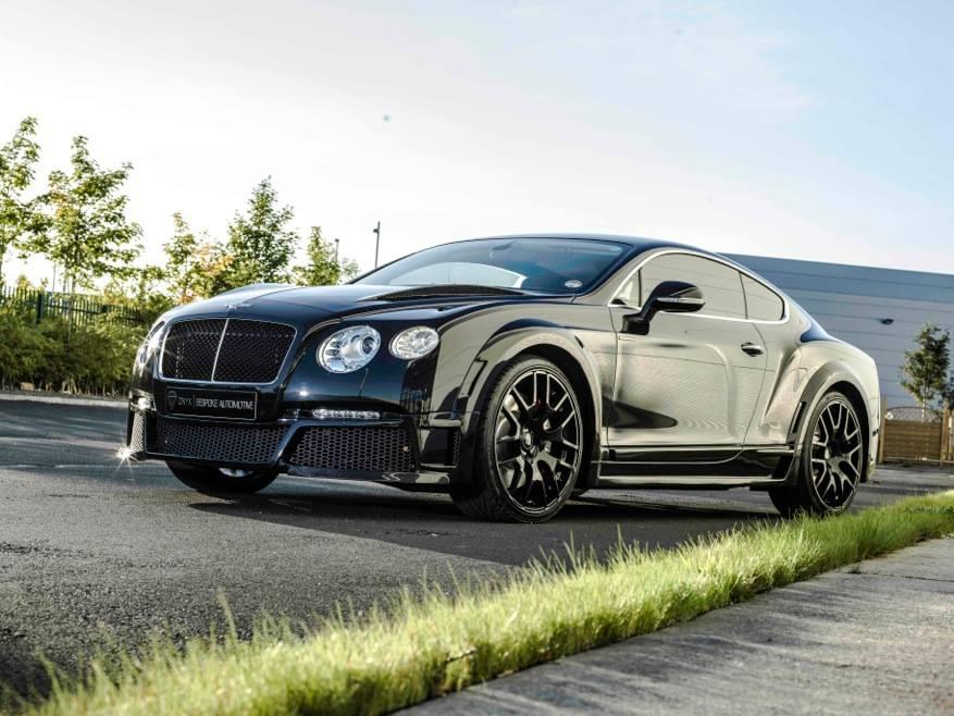 600-сильный Bentley Continental GTX