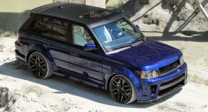 572-сильный Range Rover Sport Nighthawk от CDC Performance
