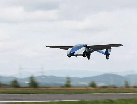 Летающие автомобили Штефана Кляйна