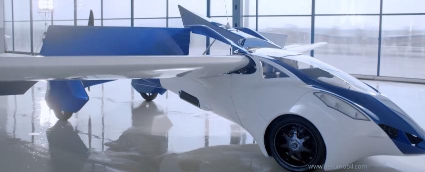 AeroMobil 3.0 — летающий автомобиль нового поколения