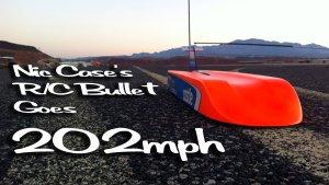 Впервые радиоуправляемая модель преодолела скорость 200 миль в час