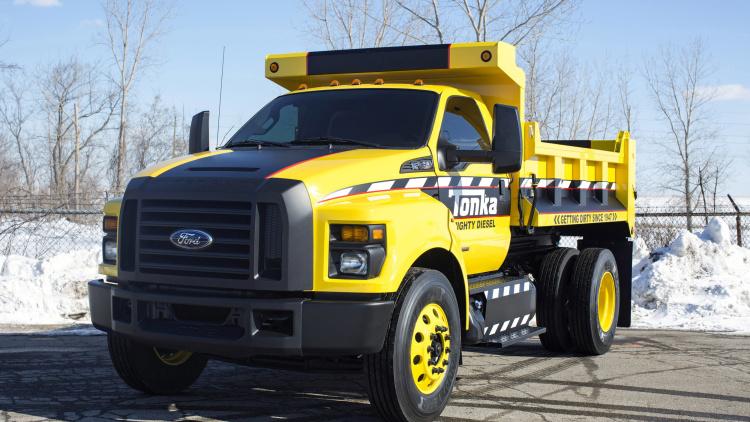Ford F-750 TONKA — универсальный грузовичок
