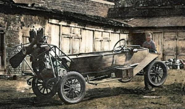 Аэромобили Курчевского сто лет назад